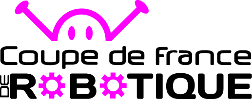 Logo coupe de france de robotique